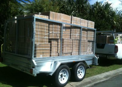 10x6ft Box Trailer with Cage