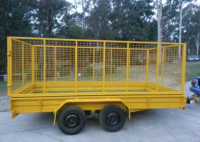14x6ft Box Trailer with Cage