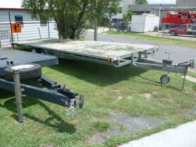 8 metre Flat Deck Trailer