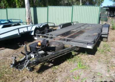 Car Trailer with Winch