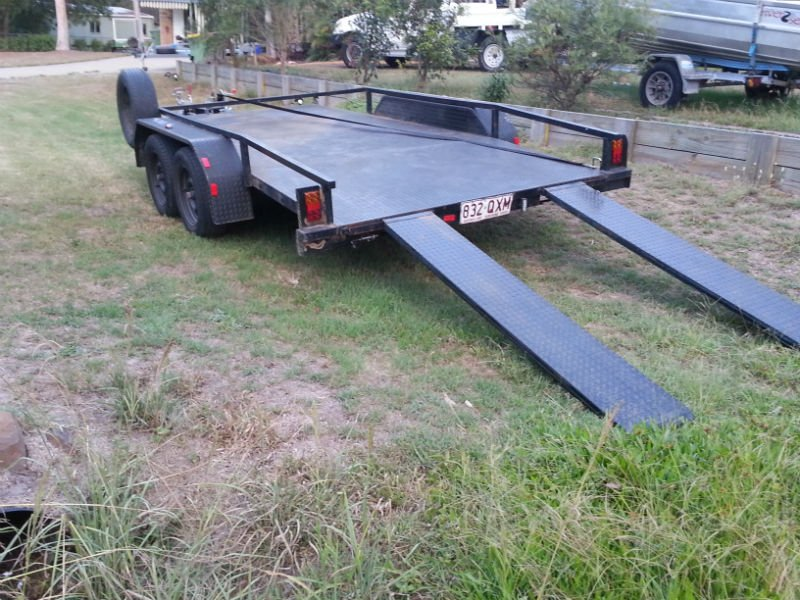 Car Trailers With Ramps Budjet Trailer Hire