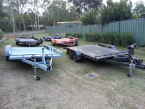 Car Trailers for Hire