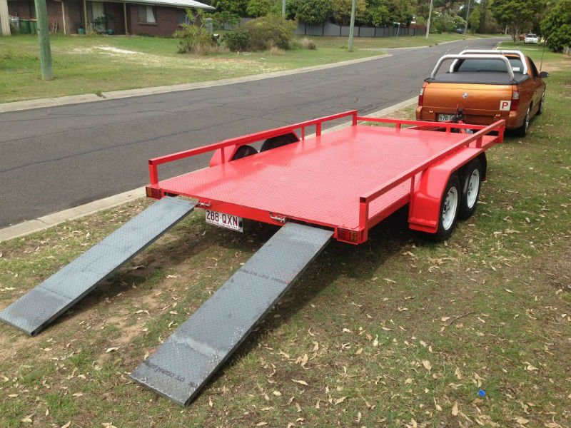 Car Trailers with Ramp