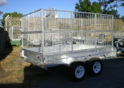 8 x5 ft Tandem Box Trailer