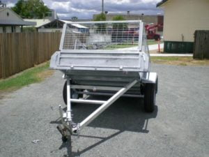 6 x 4 ft Trailer with Cage