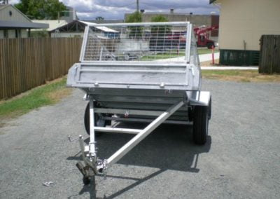 6x4 ft Trailer with Cage