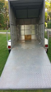Enclosed Trailer for Hire