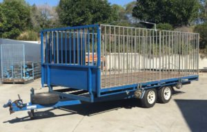 Large Cage Trailer for Hire
