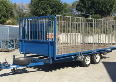 Large Cage Trailer