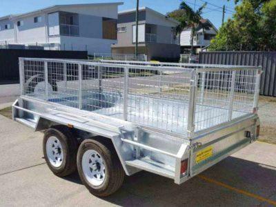 10x6 ft tandem box trailer