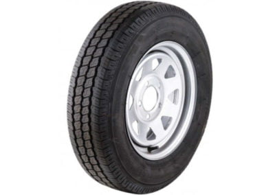 10x6 ft tandem box trailer wheel