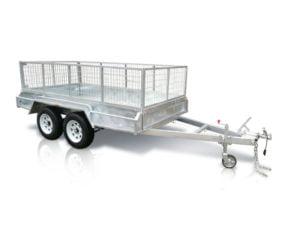 12x6 ft tandem box trailer