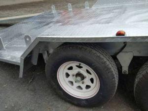 15 x 6 ft Tilt Car Carrier