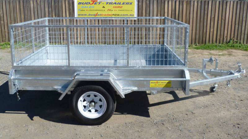 6x4 feet box trailer