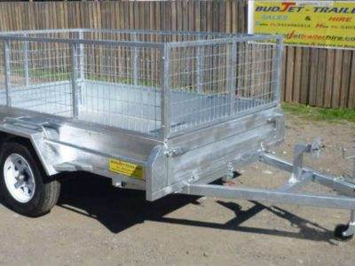 7x5 ft box trailer
