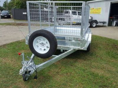 8x5 ft box trailer