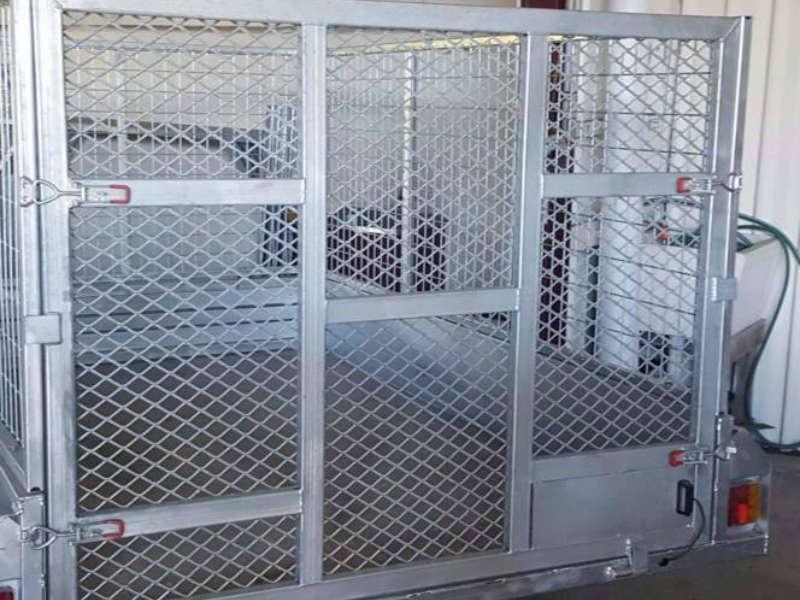 8x5 ft box trailer