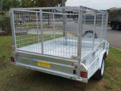 8x5 ft heavy duty box trailer
