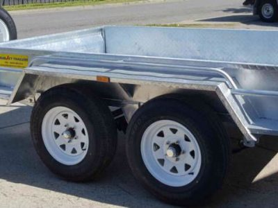 8x5 ft tandem box trailer