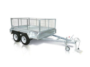 8x5 ft tandem box trailer