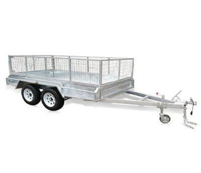 Tandem Caged Box Trailer ATM 2900kg