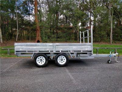 Tandem Flat Deck Trailer ATM 3500kg