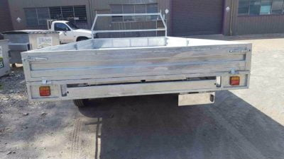 5m Tandem Flat Bed Trailer ATM 3500kg for hire