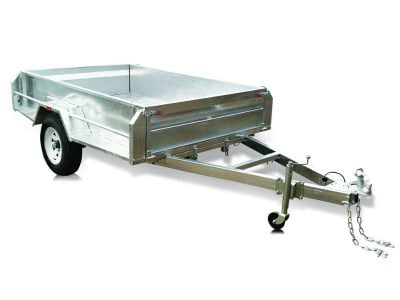 8 x 5 ft Premium HD 400mm high Box Trailer