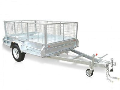 9 x 5 ft caged box trailer for hire