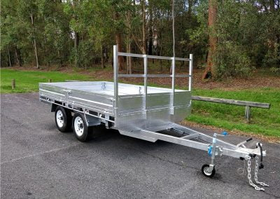 BUDJET FLAT TOP TRAILERS