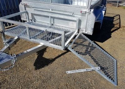 Lawn Mower Drawbar Cage