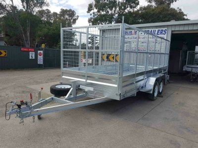 Tandem Tilt Car Trailer 2.9t - front view