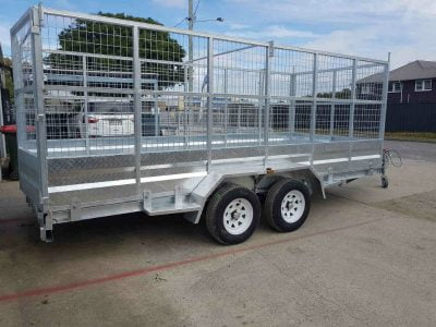 Tandem Tilt Car Trailer 2.9t - side