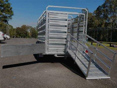 12 x 6 ft Tandem Cattle Float ATM 3500kg
