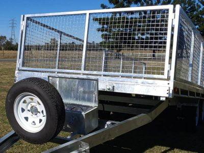 Flat Top Hydraulic Tilt Trailer ATM 3500kg