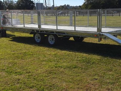 Flat Top Hydraulic Tilt Trailer ATM 3500kg