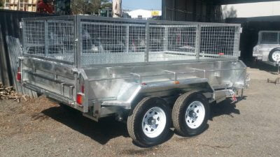 Tandem Hydraulic Tipper Trailer with Ramps ATM 3500kg